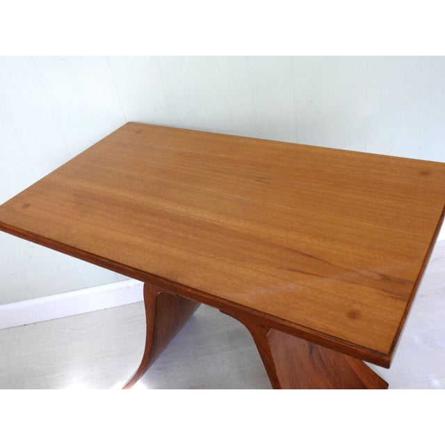 Art Deco Paul Frankl Bell Side Table For Sale In San Francisco - Image 6 of 12
