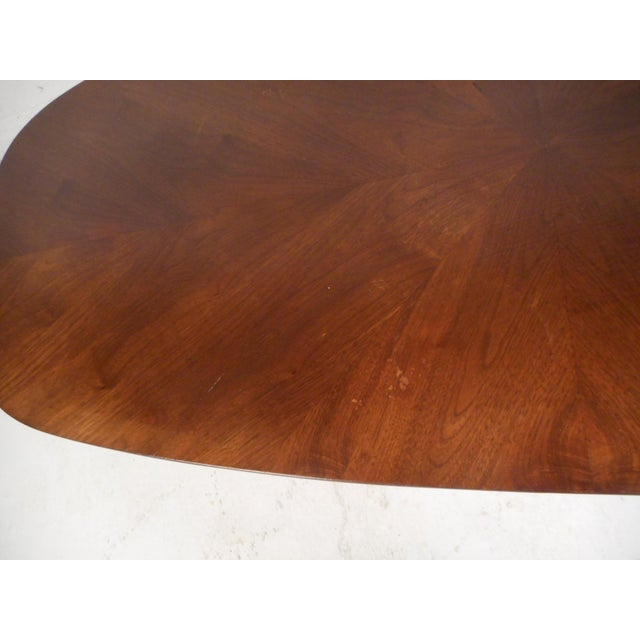 Coffee Mid-Century Modern Oval Coffee Table For Sale - Image 8 of 12