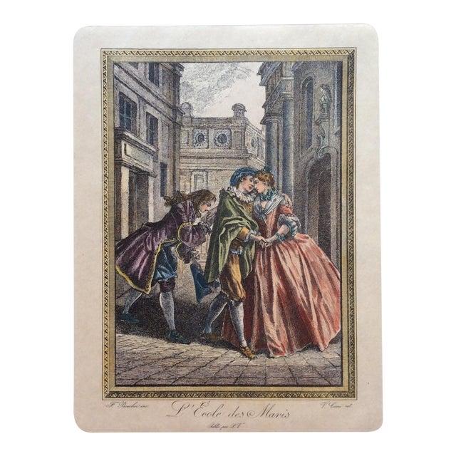 François Boucher 18th Century Engraving Print For Sale