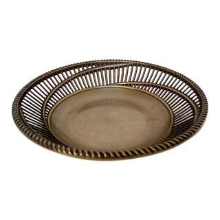 Decorative Korean Brass Bowl For Sale