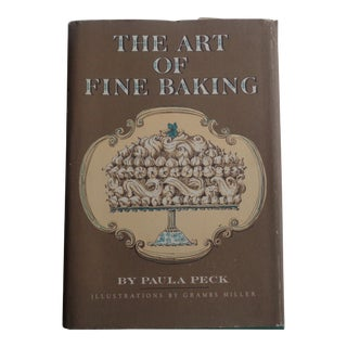 1960s Vintage the Art of Fine Baking Book For Sale