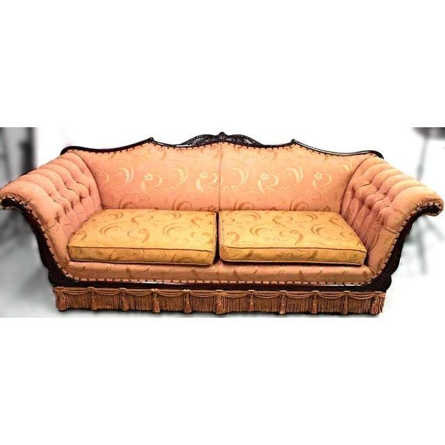 Mid-Century Upholstered Sofa - Image 2 of 7
