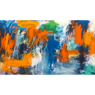 Large Contemporary Abstract Oil Painting For Sale
