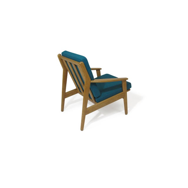 Poul Volther Poul Volther Danish Oak Lounge Chair For Sale - Image 4 of 5