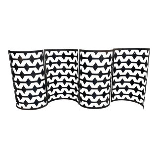 Curved Iron Architectural Panels - Set of 4 For Sale