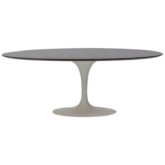 1960s Oval Tulip Dining Table by Eero Saarinen for Knoll For Sale - Image 5 of 5