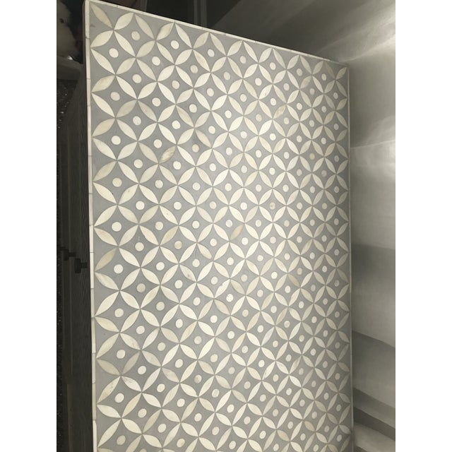 2010s Vintage Restoration Hardware Rh Salma Mosaic Dresser For Sale - Image 5 of 7