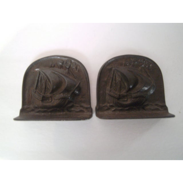 1925 Bradley & Hubbard Iron Bookends- A Pair - Image 7 of 9