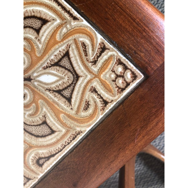 Mid Century Teak Nesting Side Table Set by G Plan For Sale - Image 9 of 10