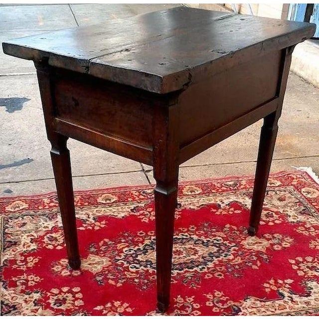 17th Century 17th Century Spanish Walnut Campaign or Tavern Table For Sale - Image 5 of 11