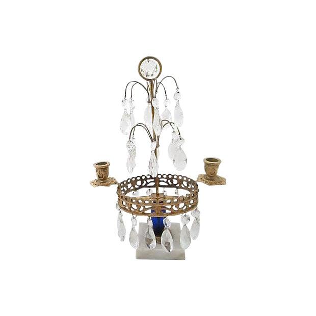 Gustavian Style Chandelier For Sale