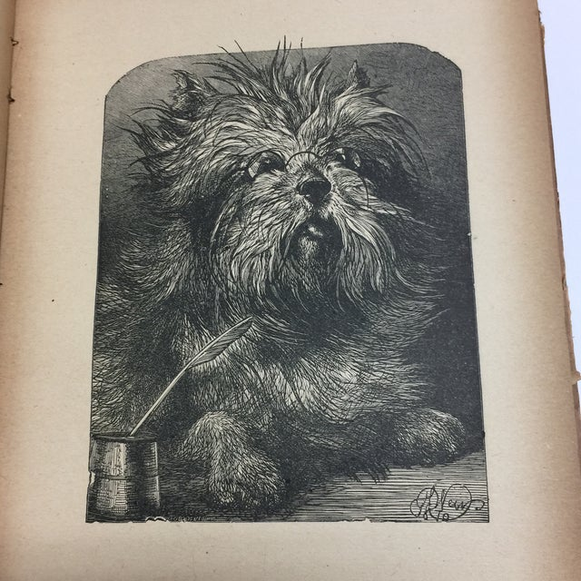 "1889 ""Happy Children "" Lithographs Book For Sale - Image 11 of 13"
