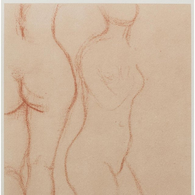 Contemporary 1950s Aristide Maillol, Studies Vintage Hungarian Print For Sale - Image 3 of 9