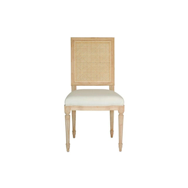 Caning Bienville Chair With Cane For Sale - Image 7 of 9