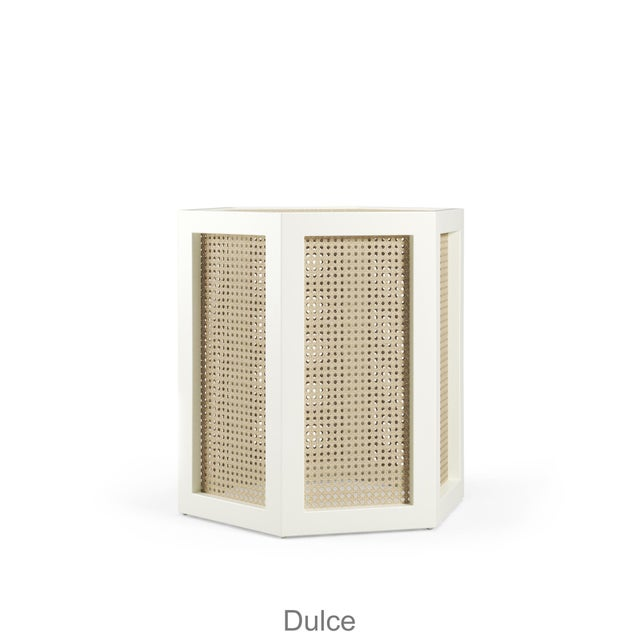 This item takes 18-20 weeks to ship. Dulce is as sweet as a stool or a side table...you choose! Choose one or combine with...