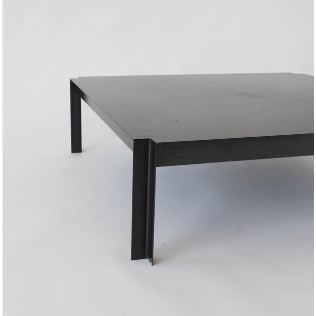 California-Designed Modernist Square Coffee Table - Image 8 of 8
