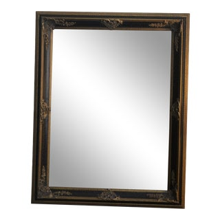 Rustic European Style Framed Mirror For Sale