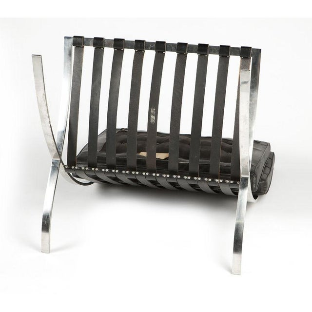 Fine Knoll Barcelona Chair By Ludwig Mies Van Der Rohe Decaso