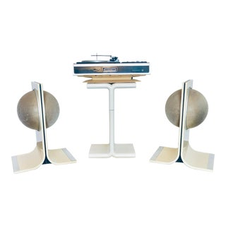 1970s Space Age Modern Electrophonics Stereo System - Set of 3 For Sale