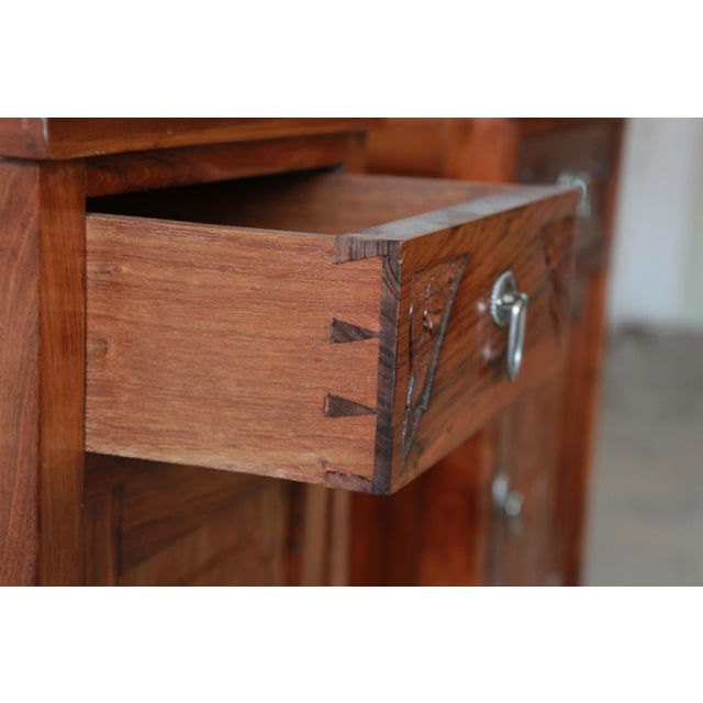 Victorian Walnut & Marble Nightstands - a Pair - Image 11 of 11