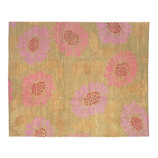 Flower Power Pixie, 9 x 10 Rug For Sale