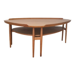 1950s Mid Century Modern Coffee Table For Sale