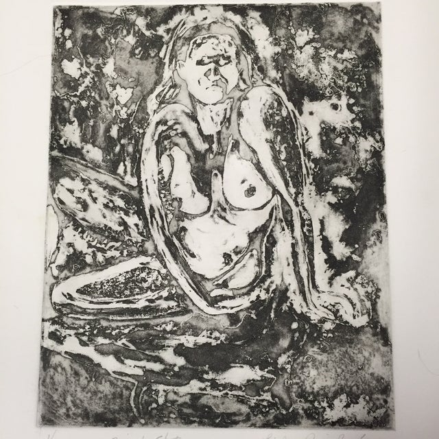 Impressionism Linda Pericolo Block Print For Sale - Image 3 of 7