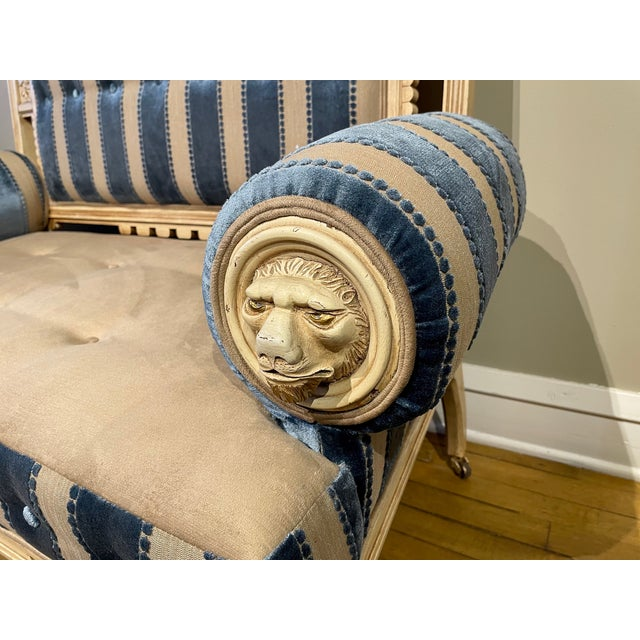 19th Century Vintage Victorian Settee For Sale In Chicago - Image 6 of 8