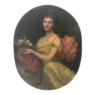 European Portrait Painting For Sale