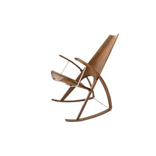 Studio Craft Rocking Chair by Leon Meyer - 1983 For Sale