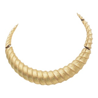 1960s Monet Collar Necklace For Sale