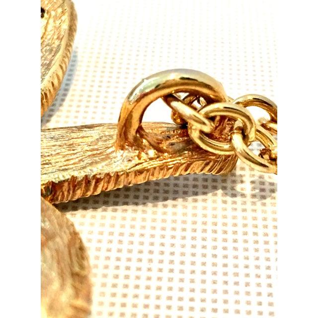 21st Century K. Lane Gold & Swarovski Crystal Starfish Pendant Necklace For Sale - Image 9 of 10