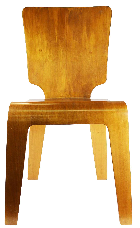 Bent Plywood Thaden Jordan Chair   Image 2 Of 7