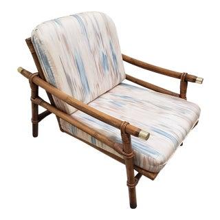 1950s Vintage John Wisner Fricks Reed Co. Far Horizon Lounge Chair For Sale