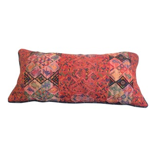 Afghan Lumbar Pillow For Sale