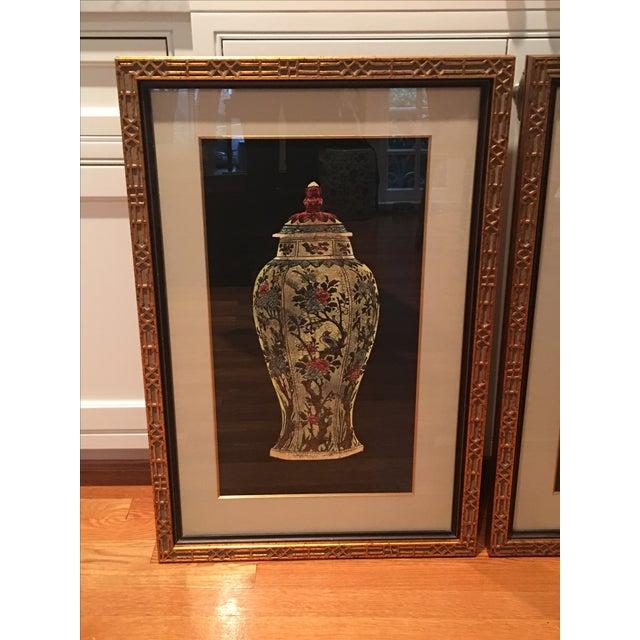 Framed Ginger Jar Prints - A Pair - Image 3 of 9