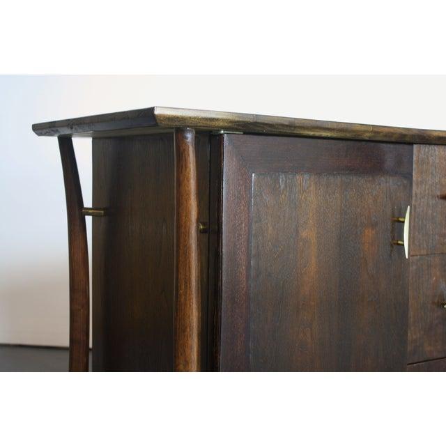 Piet Hein Sculptural Walnut Dresser Daniel Jones For Sale - Image 4 of 11