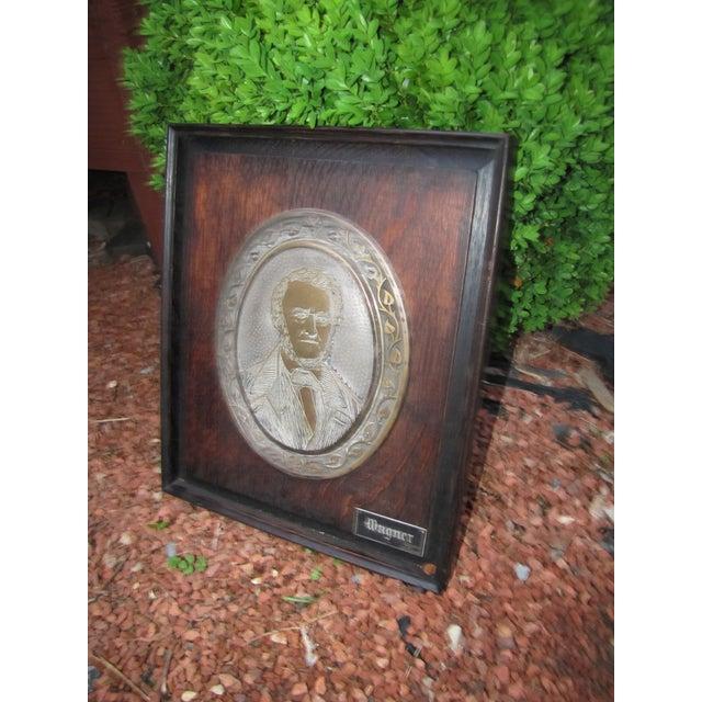 Arts & Crafts Antique Framed Wagner Plaque For Sale - Image 3 of 8