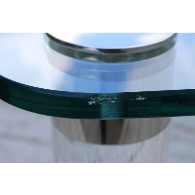 1970's Large Lucite Coffee Table For Sale - Image 10 of 11