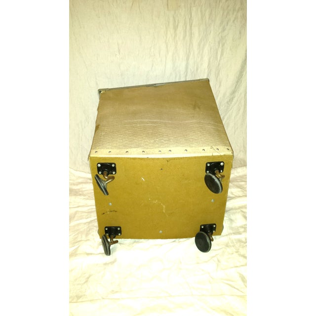 Dolphin Hotel 1960 Industrial Laundry Cart - Image 7 of 10