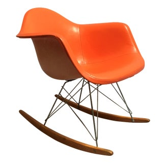50s Original Eames Rocking Chair For Sale