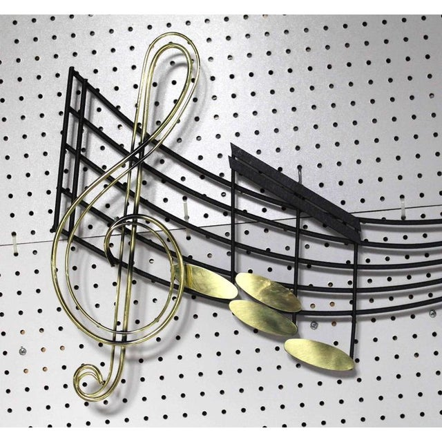 Early 20th Century Music Notes Sculpture Signed Curtis Jere For Sale - Image 5 of 8