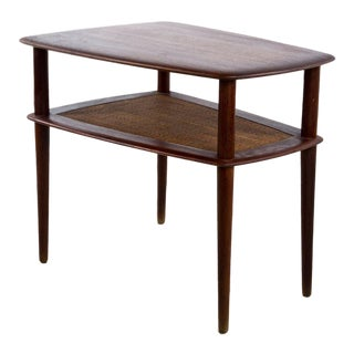 Scandinavian Modern Teak Side Table by Peter Hvidt for John Stuart For Sale