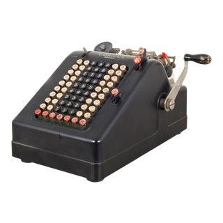 Antique Corona Adding Machine C.1930 For Sale