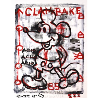"""Mickey's Clam Bake"" Original Artwork by Gary John For Sale"
