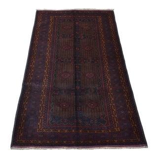 Vintage Afghan Rug For Sale