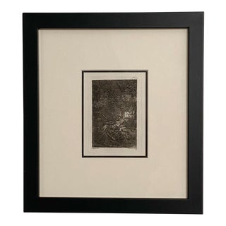 Late 18th Century Rembrandt Etching #12, by Francesco Novelli For Sale