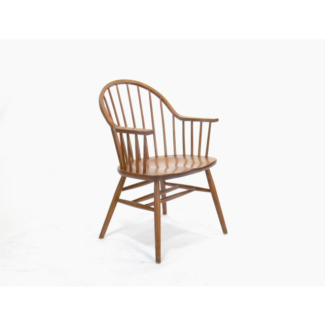Claud Bunyard for Nichols & Stone Continuous Bow Back Windsor Chair - Image 2 of 6