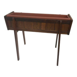 Mid-Century Modern Brazilian Rosewood Planter For Sale