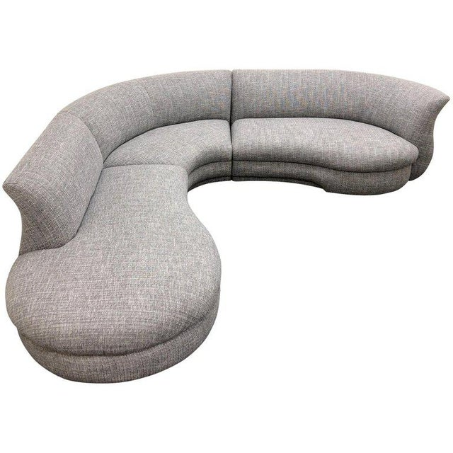 Three-Piece Sectional Sofa For Sale - Image 10 of 10